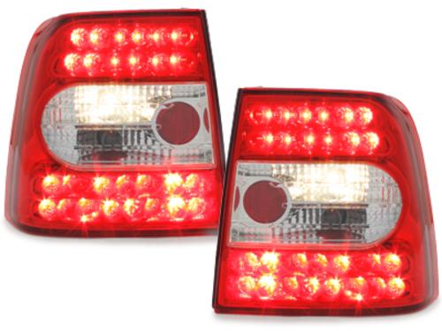 Fanali posteriori LED VW Passat 3B Lim. 97-01 red/crystal