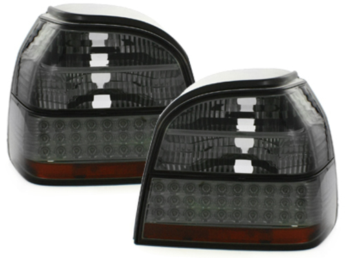 Fanali posteriori LED VW Golf III 91-98 fumè