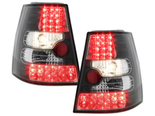 Fanali posteriori LED VW Bora Variant + Golf IV Variant  nero