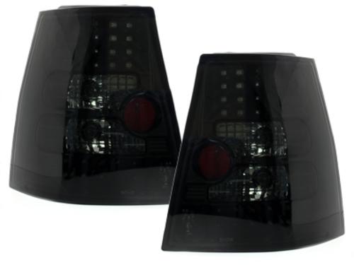 Fanali posteriori LED VW Bora Variant Golf IV + Variant_ nero / fum