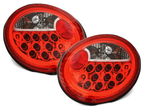 Fanali posteriori LED VW New Beetle  97+ red/crystal