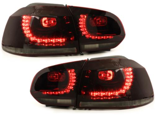pilotos traseros LED VW Golf VI 08+_rojo/ahumado_R-Look