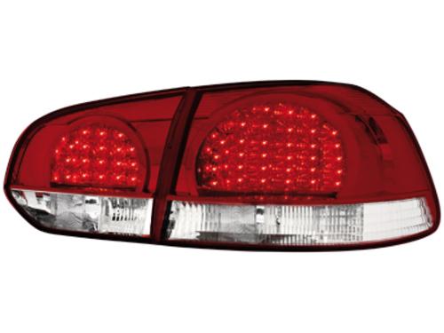 Fanali posteriori LED VW Golf VI red/crystal