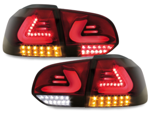 Fanali posteriori VW GOLF 6 - CAR DNA - FULL LED 08-->12