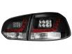 Fanali posteriori LED VW Golf VI LED indicator nero