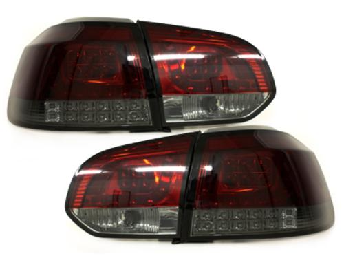 Fanali posteriori LED VW Golf VI LED indicator red/fumè