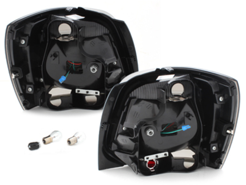 Fanali posteriori LED VW Polo 09 + fumè-