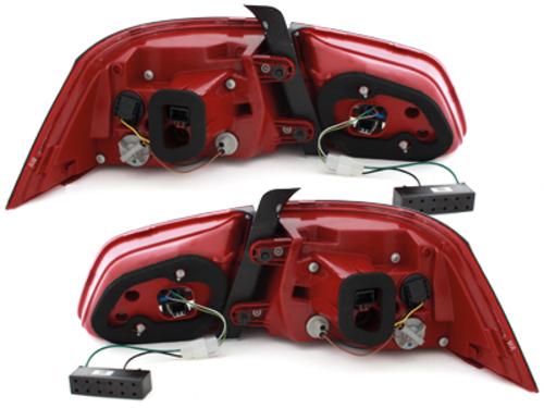 Fanali posteriori LED VW Passat 3C GP Sedan 2011+ red / fumè-
