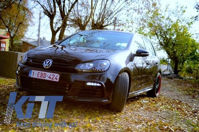 Minigonne laterali Volkswagen Golf MK6 VI 2008--> R20 Design