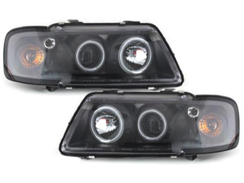 Fari Audi A3 8L 09.96-08.00 2 CCFL Angel Eyes black