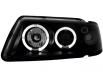 Fari Audi A3 8L 09.96-00 posizione Angel Eyes RHD black