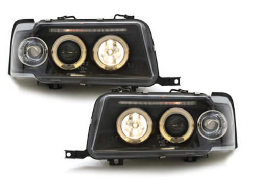 Fari Audi 80 B4 Lim. / Avant 91-94 2 SLR black