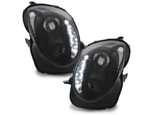 DECTANE faros LED con luz diurna_ ALFA ROMEO MITO 08+_negro
