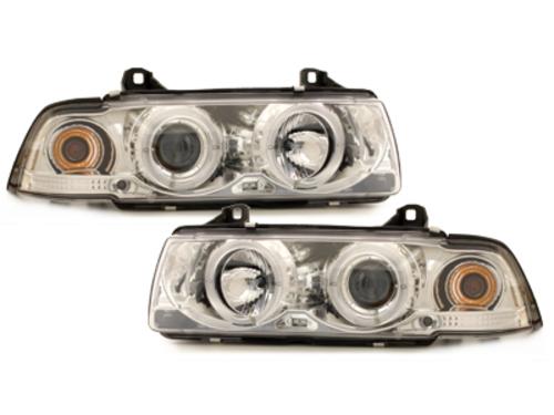 Fari BMW E36 Lim. 7.92-3.98 2 SLR chrome