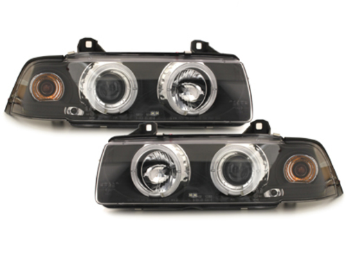 Fari BMW E36 Lim. 7.92-3.98 2 SLR black