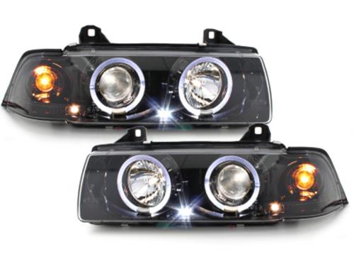 Fari BMW E36 Lim. 7.92-3.98 2 SLR black chrome