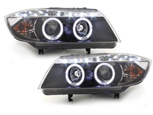 faros DECTANE BMW E90 05+_2 anillos luz de posición_óptica d
