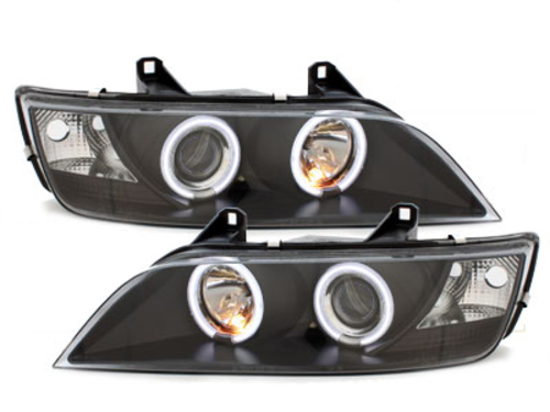 faros BMW Z3 95-02_2 anillos luz de posición CCFL_negro