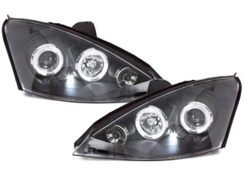 faros Ford Focus 01-04_2 anillos luz de posición_negro
