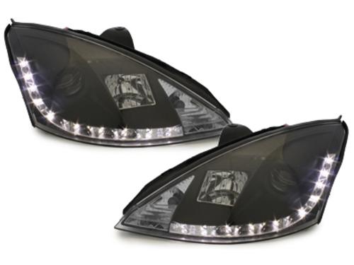 faros DECTANE Ford Focus 01-04_óptica de luz diurna_negro
