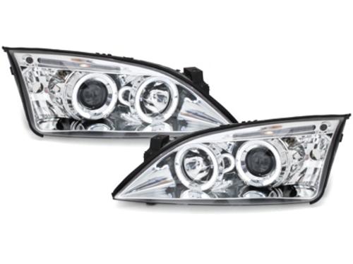 faros Ford Mondeo 00-07_2 anillos luz de posición_cromado
