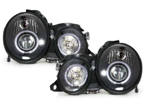 faros M. Benz W208 CLK 97-02_2 anillos luz de posición_negro