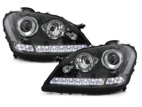 faros en la óptica de luz diurna DECTANE Mercedes Benz W164 M 05-08_negro