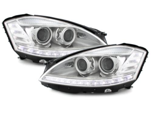 faros Mercedes Benz W220 clase S 98-01_xenòn_cromado