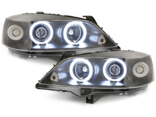 faros Opel Astra G 98-04_2 anillos luz de posición CCFL_negro