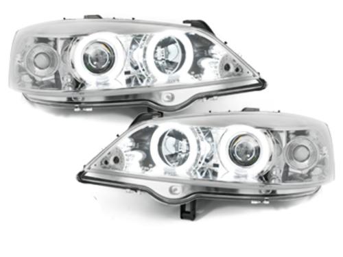 faros Opel Astra G 98-04_2 anillos luz de posición CCFL_crom