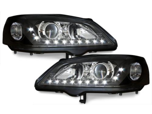 faros DECTANE Opel Astra G 98-04_óptica de luz diurna_negro