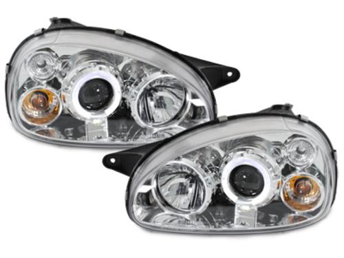 faros Opel Corsa B 3/5p 03.93-01_1 annillo luz de posición_cromado