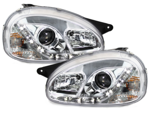faros DECTANE Opel Corsa B 3/5p 03.93-01_óptica de luz diurn