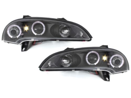 faros Opel Tigra 94-00_2 anillos luz de posición_negro