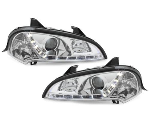 faros DECTANE Opel Tigra 94-00_óptica de luz diurna_cromado