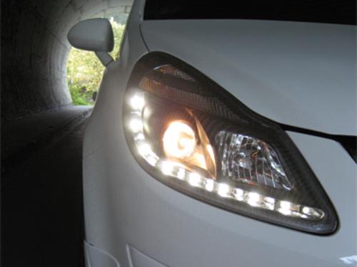 Fari DAYLINE Opel Corsa D 06+  black