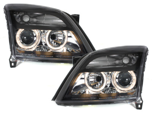 faros Opel Vectra C 02-08/05_2 anillos luz de posición_negro