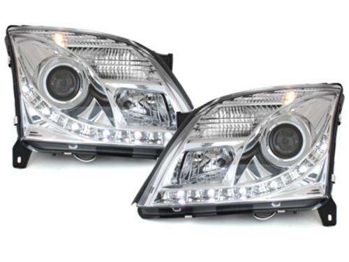 faros DECTANE Opel Vectra C 02-08/05_óptica de luz diurna_cromado