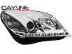 Fari DAYLINE Opel Astra H 04-09 TFL Optik chrome