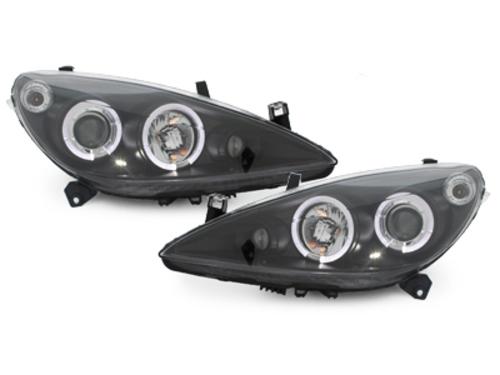 faros Peugeot 307 01-04.05_2 anillos luz de posición_negro