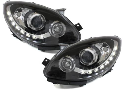 faros DECTANE Renault Twingo II 07-12_óptica de luz diurna_negro