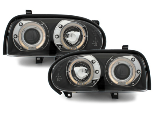 faros VW Golf III 92-98_2 anillos luz de posición_negro