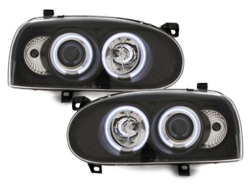 faros VW Golf III 92-98_2 anillos luz de posición CCFL_negro