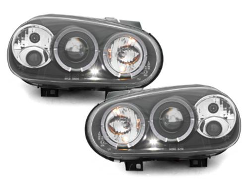 faros VW Golf IV 97-04_2 anillos luz de posición_negro