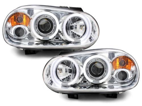 faros VW Golf IV 97-04_2 anillos luz de posición CCFL_cromad