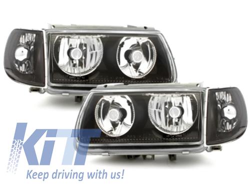 faros VW Polo 6N 95-98_sin anillos luz de posición_negro