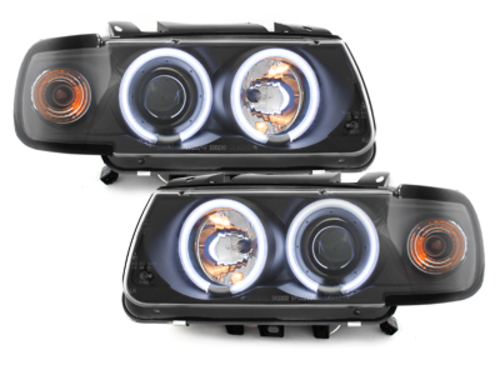 faros VW Polo 6N 95-98_2 anillos luz de posición CCFL_negro