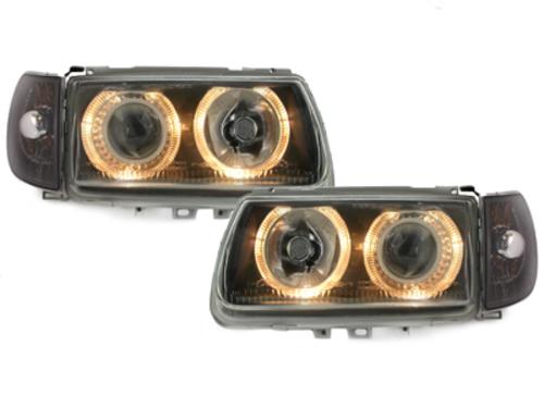 faros VW Polo 6N 95-98_2 anillos luz de posición_negro