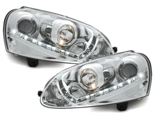 D-LITE headlights VW Golf V daytime running light_HID_chrome - SWV06ALGXHID