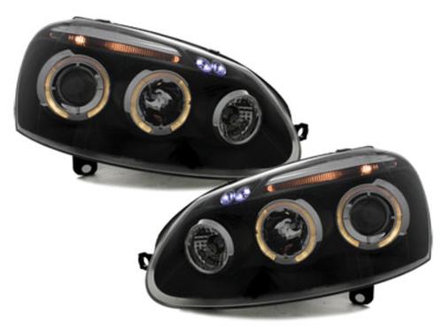 faros VW Golf V 03-09_2 anillos luz de posición_negro